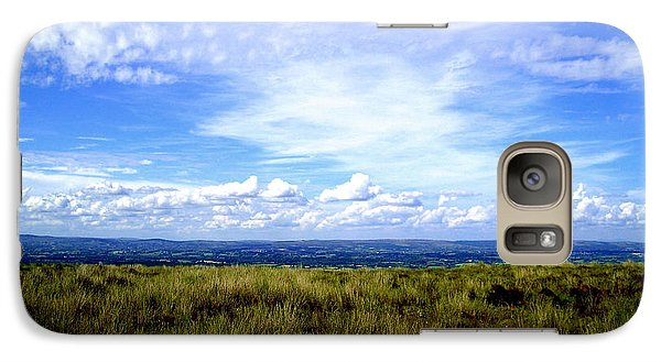 Galaxy Case featuring the photograph Irish Sky by Nina Ficur Feenan