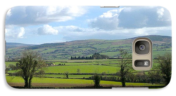 Galaxy Case featuring the photograph Irish Spring by Suzanne Oesterling