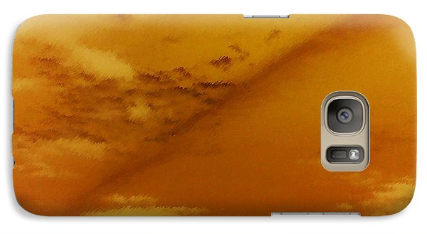 Galaxy Case featuring the photograph Iron Rainbow by Max Mullins