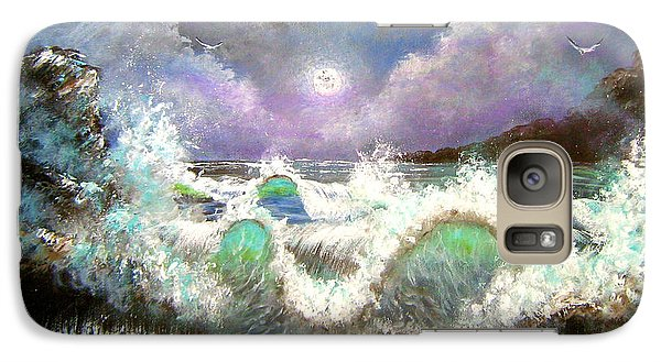 Galaxy Case featuring the painting Irresistible Force  by Patrice Torrillo