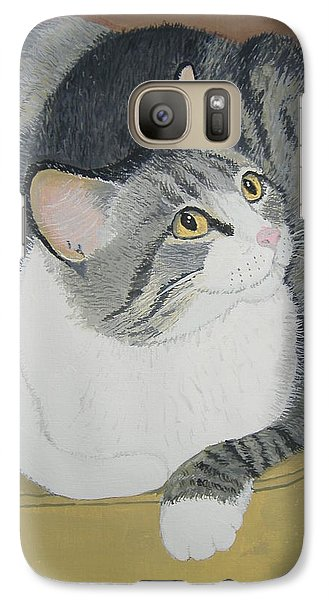 Galaxy Case featuring the painting Is Dinner Ready by Norm Starks