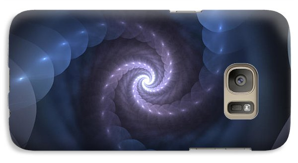 Galaxy Case featuring the digital art Is There A Light At The End Of The Tunnel? by Svetlana Nikolova