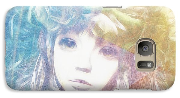 Galaxy Case featuring the digital art Isangelle Clariscendre by Barbara Orenya