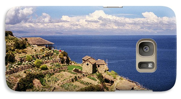 Galaxy Case featuring the photograph Isla Del Sol by Suzanne Luft