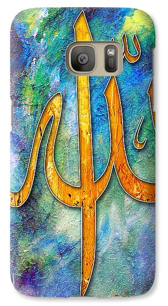 Islamic Caligraphy 001 Galaxy S7 Case by Catf