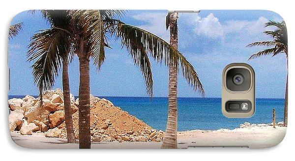 Galaxy Case featuring the photograph Island Breeze by Judy Palkimas