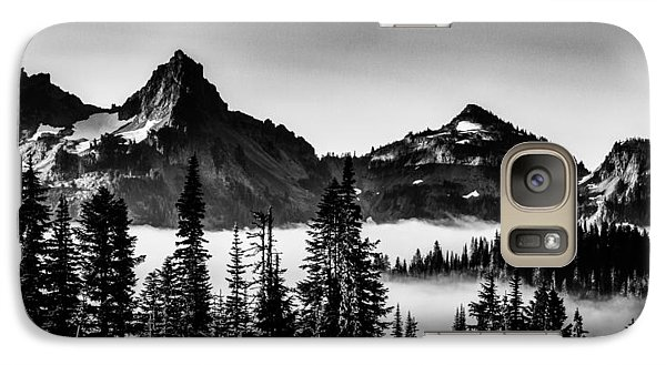 Galaxy Case featuring the photograph Island In The Clouds by Chris McKenna