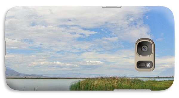 Galaxy Case featuring the photograph Island Peace by Marilyn Diaz