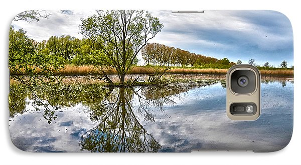 Galaxy Case featuring the photograph Island Tree by Frans Blok