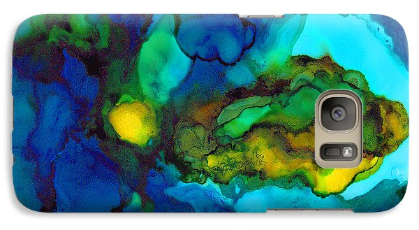 Galaxy Case featuring the painting Islands by Angela Treat Lyon