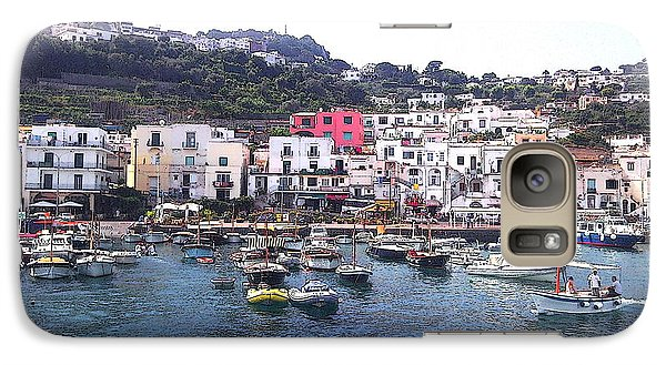 Galaxy Case featuring the photograph Isle Of Capri by Ze  Di