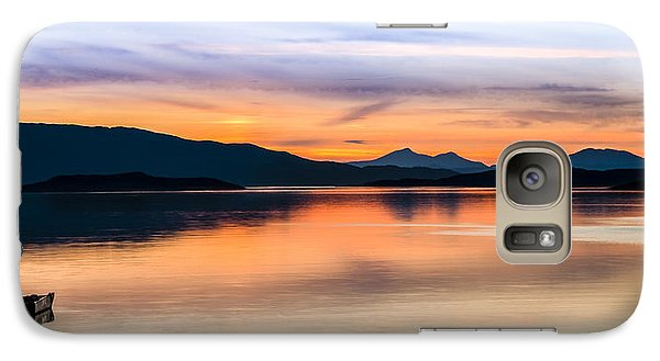 Sunset Isle Of Jura Scotland Galaxy S7 Case