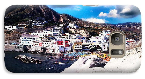 Galaxy Case featuring the photograph Isola Di Ischia Sant'angelo - The Island Of Ischia Sant'angelo by Ze  Di