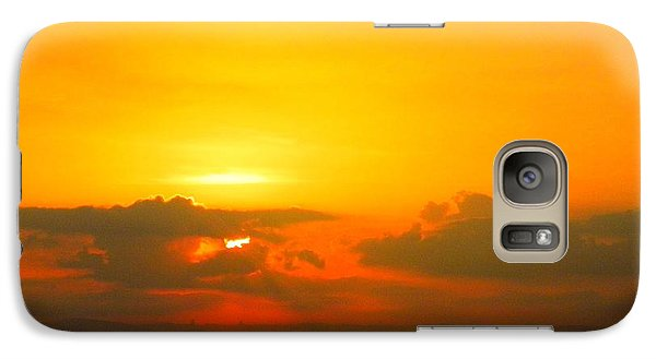Galaxy Case featuring the photograph Israeli Sunset by Robin Coaker