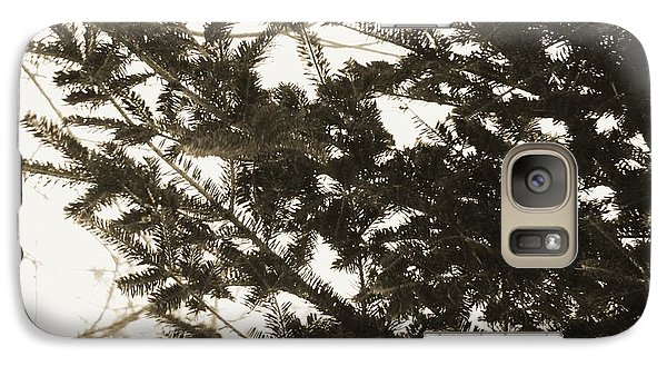 Galaxy Case featuring the photograph It Feels Like Winter... by Zinvolle Art