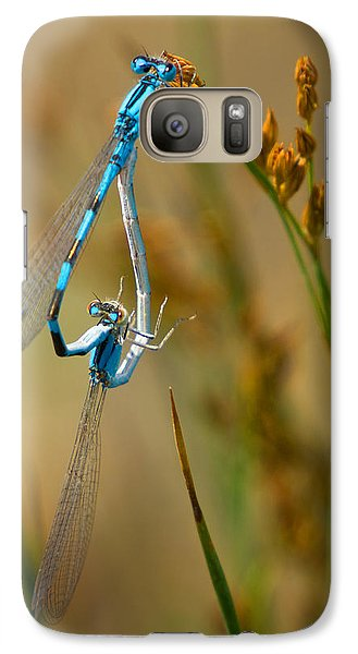 Galaxy Case featuring the photograph It Must Be Love by Janis Knight