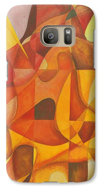 Galaxy Case featuring the painting It Seemed So Pleasin' by Rick Ahlvers