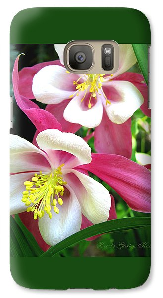 Galaxy Case featuring the photograph It Takes Two by Brooks Garten Hauschild