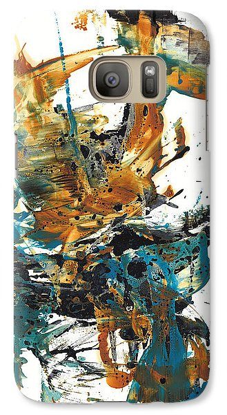 Galaxy Case featuring the painting It Went This Way 136.090710 by Kris Haas