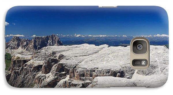 Galaxy Case featuring the photograph Italian Dolomites - Sella Group by Antonio Scarpi