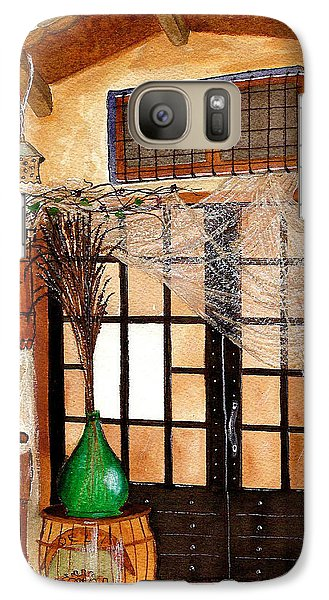 Galaxy Case featuring the painting Italian Restaurant  by Nan Wright