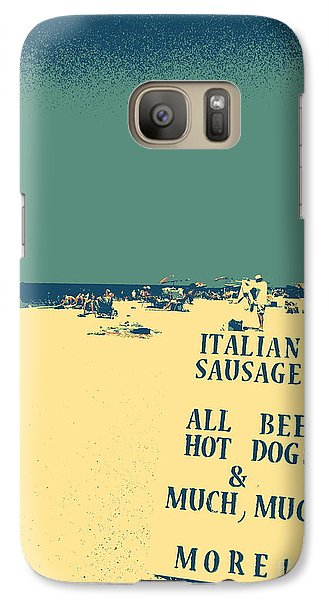 Galaxy Case featuring the digital art Italian Sausage by Valerie Reeves