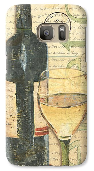 Cocktails Galaxy S7 Case - Italian Wine And Grapes 1 by Debbie DeWitt