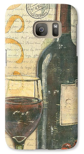 Italian Wine And Grapes Galaxy Case by Debbie DeWitt