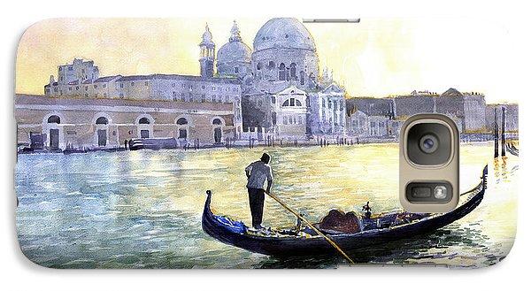 City Scenes Galaxy S7 Case - Italy Venice Morning by Yuriy Shevchuk