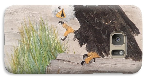 Galaxy Case featuring the painting Itchy by Betty-Anne McDonald