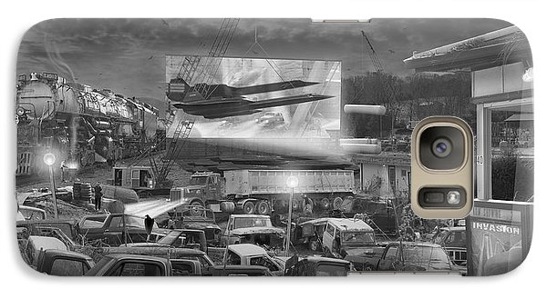 Buzzard Galaxy S7 Case - It's A Disposable World  by Mike McGlothlen