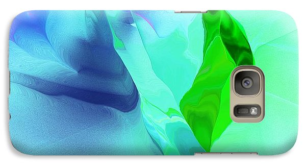 Galaxy Case featuring the digital art It's A Mystery  by David Lane
