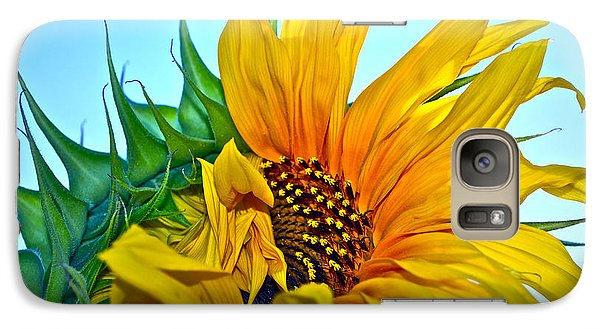 Galaxy Case featuring the photograph Its A New Dawn by Gwyn Newcombe