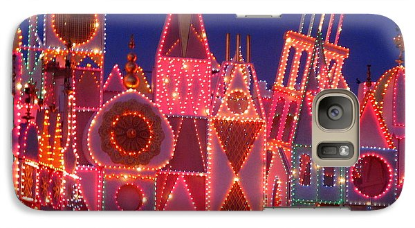 Galaxy Case featuring the photograph It's A Small World   by Ranjini Kandasamy