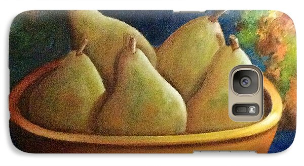 Galaxy Case featuring the painting It's All About Pears  Sold by Susan Dehlinger