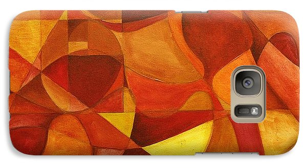 Galaxy Case featuring the painting It's As Easy As Fishin' by Rick Ahlvers