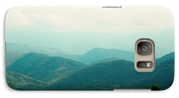 Galaxy Case featuring the photograph It's Better In The Mountains by Kim Fearheiley