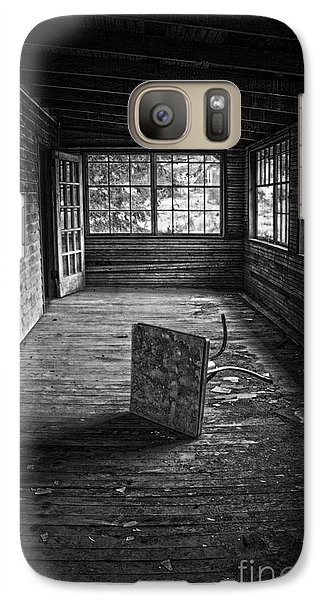 Galaxy Case featuring the photograph It's Empty Now by Debra Fedchin