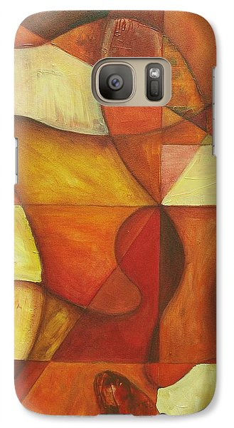 Galaxy Case featuring the painting It's Mine For Awhile by Rick Ahlvers