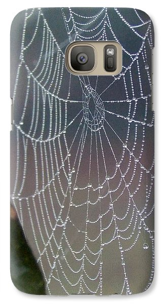 Galaxy Case featuring the photograph Ittsy Bittsy Spider by John Glass