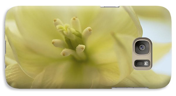 Galaxy Case featuring the photograph Ivory Dream - Yucca Flower Art Print by Jane Eleanor Nicholas