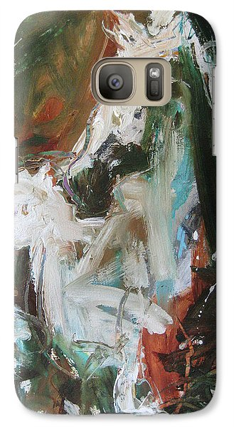 Galaxy Case featuring the painting Ivory by Robert Joyner