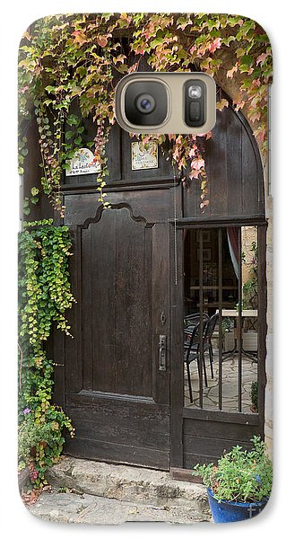 Galaxy Case featuring the photograph Ivy Covered Doorway by Paul Topp