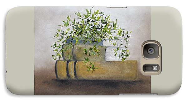 Galaxy Case featuring the painting Ivy League by Judith Rhue