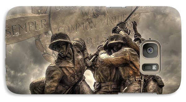Galaxy Case featuring the photograph Iwo Jima by Timothy Lowry