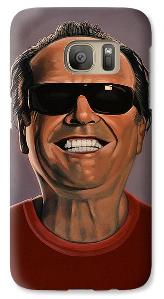 Jack Nicholson 2 Galaxy S7 Case by Paul Meijering