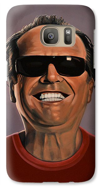 Jack Nicholson 2 Galaxy Case by Paul Meijering