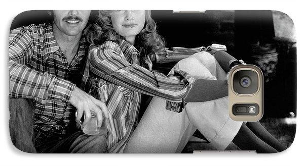 Jack Nicholson With A Female Model Galaxy S7 Case by Puhlmann Rico