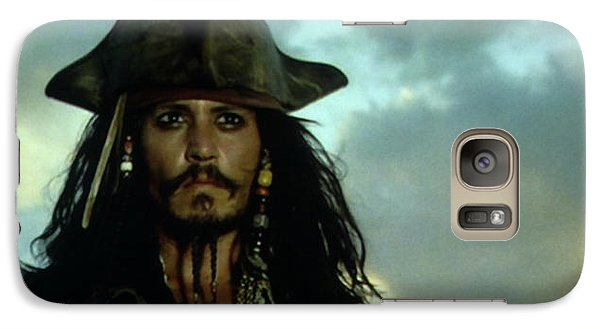 Jack Sparrow Galaxy S7 Case by Jack Hood