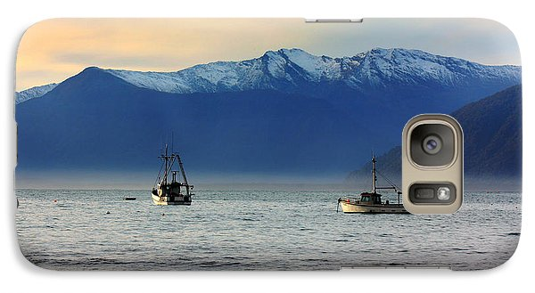 Galaxy Case featuring the photograph Jackson Bay South Westland New Zealand by Amanda Stadther